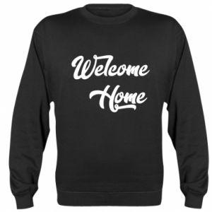 Bluza (raglan) Welcome home