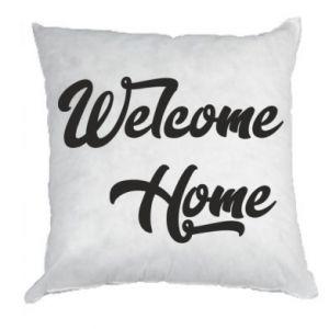 Poduszka Welcome home