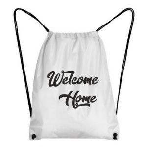 Plecak-worek Welcome home