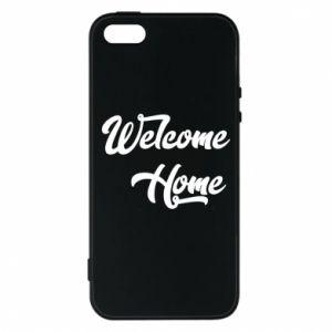 Etui na iPhone 5/5S/SE Welcome home