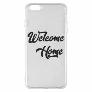 Etui na iPhone 6 Plus/6S Plus Welcome home