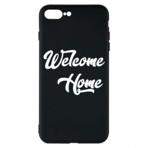Etui na iPhone 7 Plus Welcome home