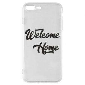 Etui na iPhone 8 Plus Welcome home