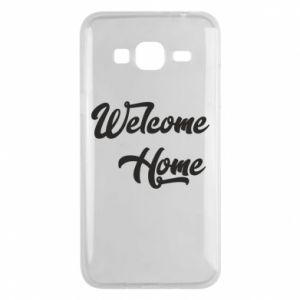 Etui na Samsung J3 2016 Welcome home