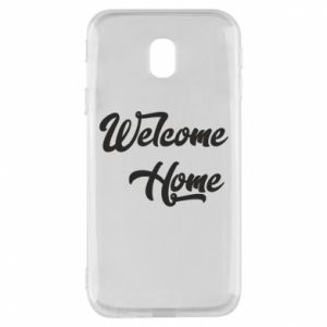 Etui na Samsung J3 2017 Welcome home