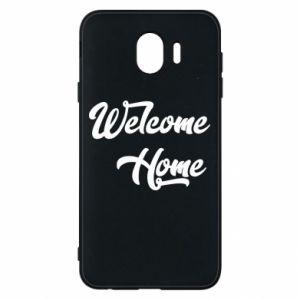 Etui na Samsung J4 Welcome home