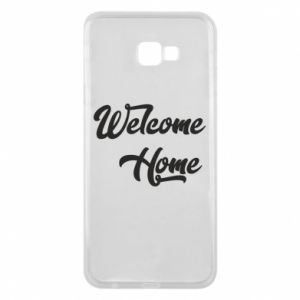 Etui na Samsung J4 Plus 2018 Welcome home
