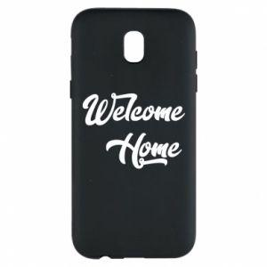 Etui na Samsung J5 2017 Welcome home