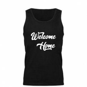Męska koszulka Welcome home