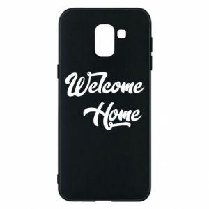 Etui na Samsung J6 Welcome home