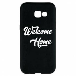 Etui na Samsung A5 2017 Welcome home