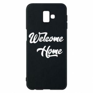 Etui na Samsung J6 Plus 2018 Welcome home