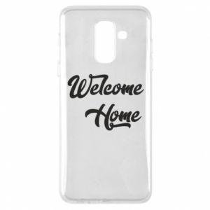 Etui na Samsung A6+ 2018 Welcome home