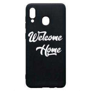 Etui na Samsung A20 Welcome home