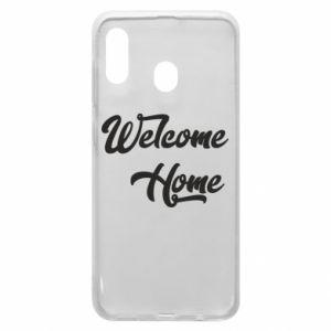 Etui na Samsung A30 Welcome home