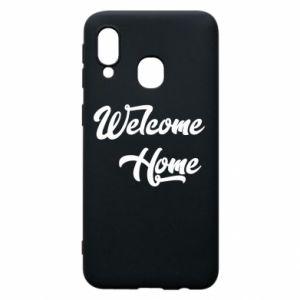 Etui na Samsung A40 Welcome home