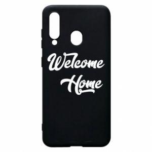 Etui na Samsung A60 Welcome home