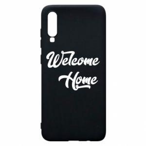 Etui na Samsung A70 Welcome home