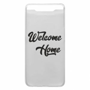 Etui na Samsung A80 Welcome home