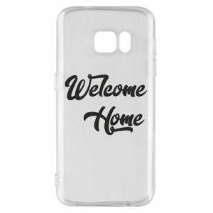 Etui na Samsung S7 Welcome home