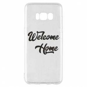 Etui na Samsung S8 Welcome home