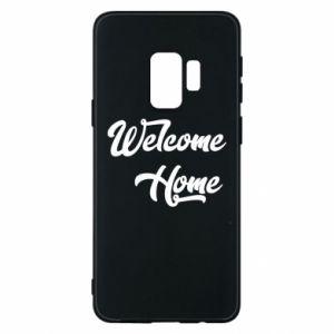 Etui na Samsung S9 Welcome home