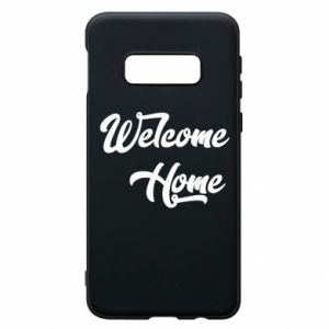 Etui na Samsung S10e Welcome home