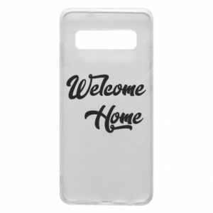 Etui na Samsung S10 Welcome home