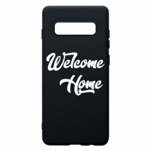 Etui na Samsung S10+ Welcome home