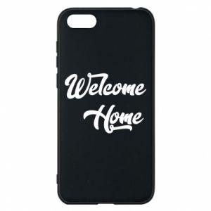 Etui na Huawei Y5 2018 Welcome home