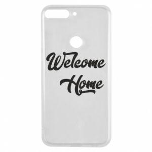 Etui na Huawei Y7 Prime 2018 Welcome home