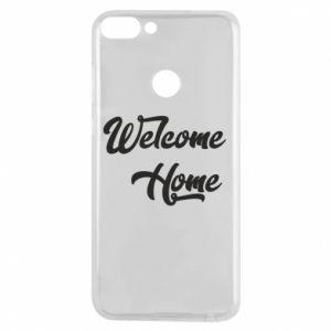 Etui na Huawei P Smart Welcome home