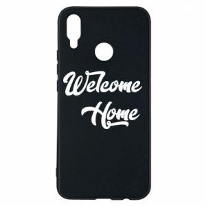 Etui na Huawei P Smart Plus Welcome home