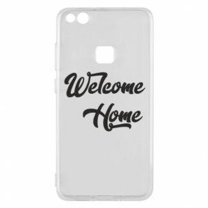 Etui na Huawei P10 Lite Welcome home