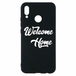 Etui na Huawei P20 Lite Welcome home