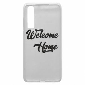 Etui na Huawei P30 Welcome home