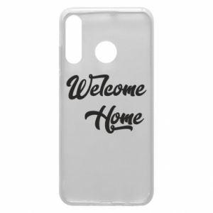 Etui na Huawei P30 Lite Welcome home