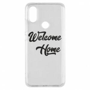 Etui na Xiaomi Mi A2 Welcome home