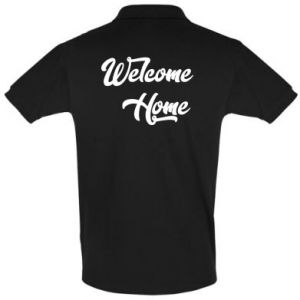 Koszulka Polo Welcome home