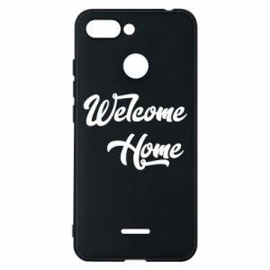Etui na Xiaomi Redmi 6 Welcome home