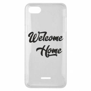 Etui na Xiaomi Redmi 6A Welcome home