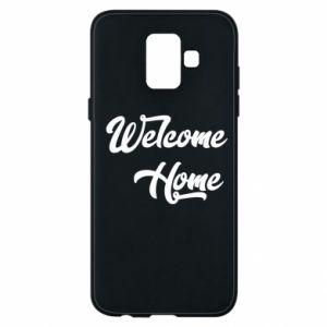 Etui na Samsung A6 2018 Welcome home