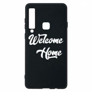 Etui na Samsung A9 2018 Welcome home