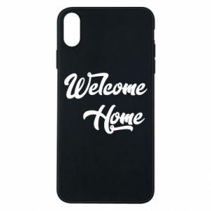 Etui na iPhone Xs Max Welcome home