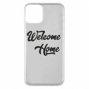 Etui na iPhone 11 Welcome home