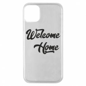 Etui na iPhone 11 Pro Welcome home