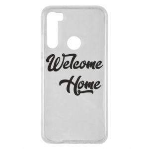 Etui na Xiaomi Redmi Note 8 Welcome home