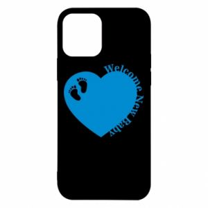 Etui na iPhone 12/12 Pro Welcome new baby