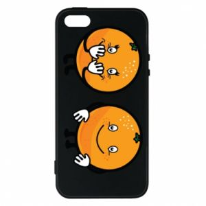 Phone case for iPhone 5/5S/SE Cheerful Oranges - PrintSalon