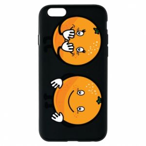 Phone case for iPhone 6/6S Cheerful Oranges - PrintSalon